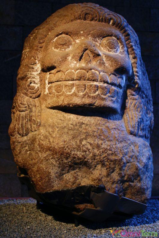 Mexique - Mexico - Musée de l'Anthropologie - Crâne