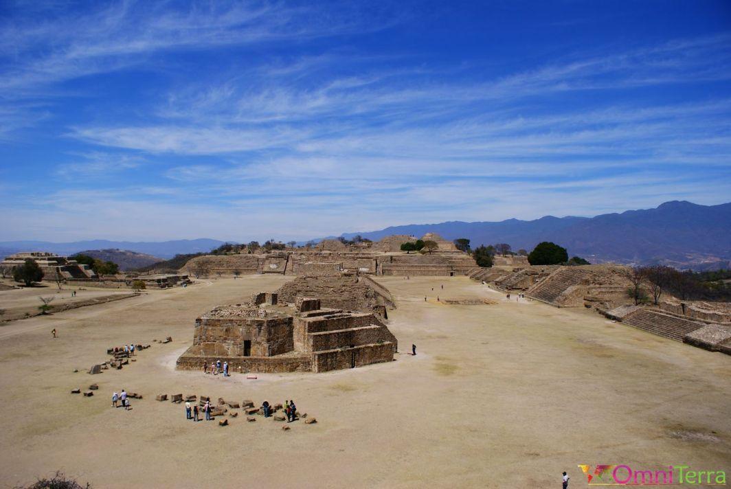 Mexique - Monte Alban - Vue du site