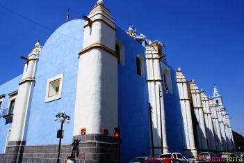 Mexique - Puebla - Bâtiment