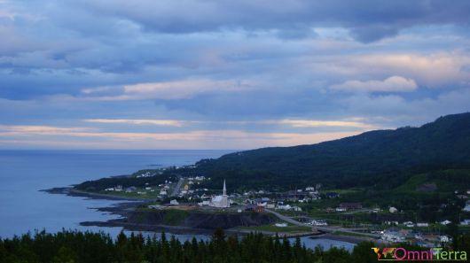 Québec - Gaspésie - Petite vallée - Panorama