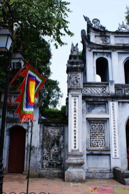 Vietnam - Hanoi - Temple de la littérature - Entrée
