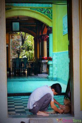 Vietnam - Ho Chi Minh - Scène de rue Cholon