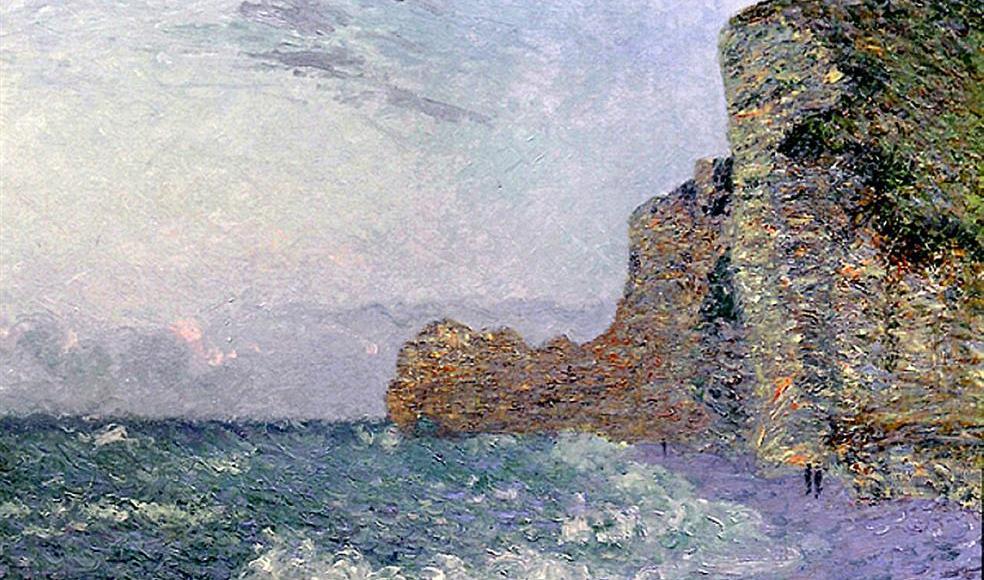 Falaises - Gustave Loiseau