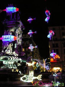 Lyon - Fête des Lumières - Place Terreaux 5