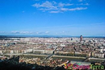 Lyon - Panorama - Colline de Fourvièret