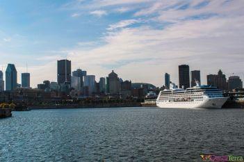 Montréal - Port vu de la Cité du Havre