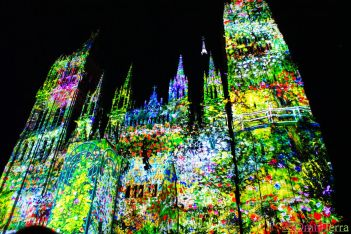 Normandie - Rouen - Cathédrale de Lumière