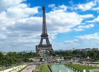 Paris - Panorama - Trocadero