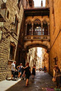Barcelone-Barri-Gotic-Carrer-del-Bisbe