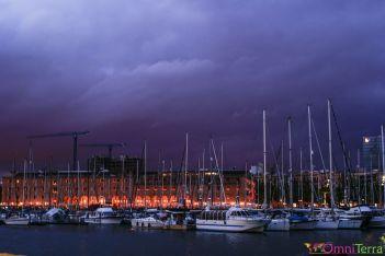 Barcelone-Port-Nuit