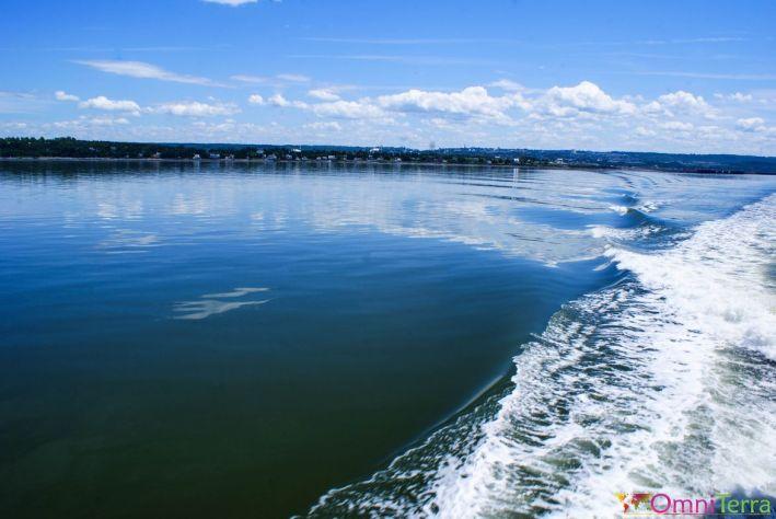 Québec - Observation des baleines - Départ de Rivière du Loup