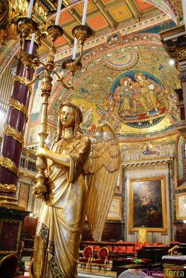 Rome - Basilique Sainte Marie Majeure - Ange