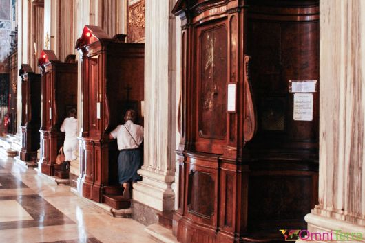 Rome - Basilique Sainte Marie Majeure -Confessional