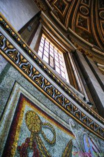 Rome-Vatican-Basilique-Saint-Pierre-Mosaique-détai