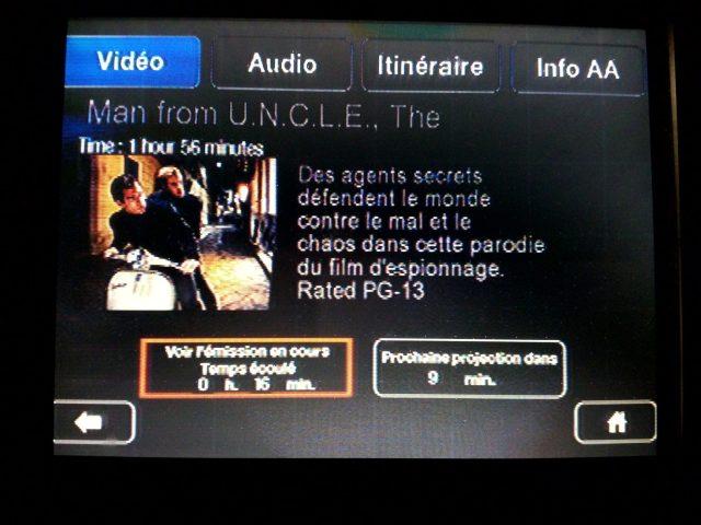 Ecran TV Avion High Tech