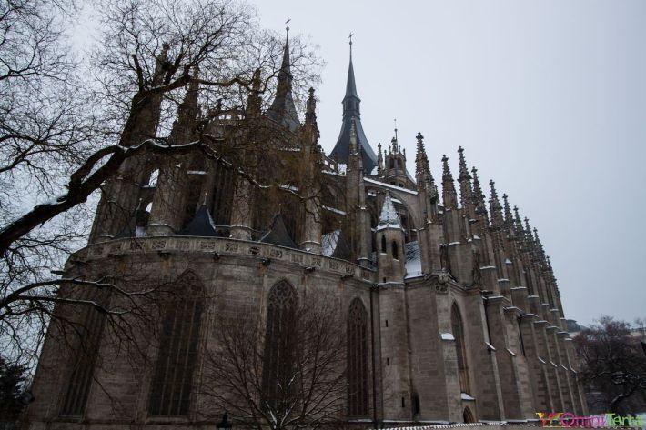 Kutna-Hora-Cathédrale-Sainte-Barbe-Extérieur