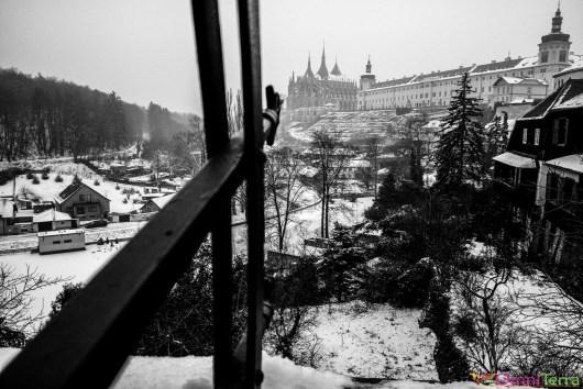 Kutna Hora - panorama rue Vyhlídka u sv. Jakuba