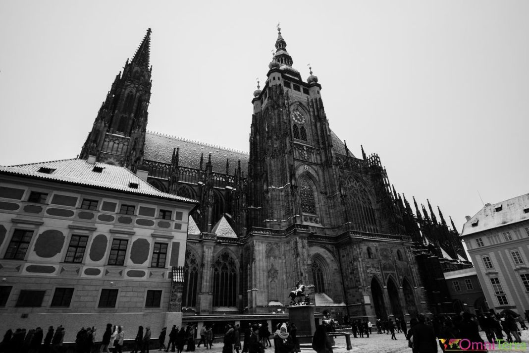 Prague - Mala Strana - Chateau de Prague - Cathedrale St Guy