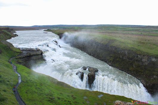 Islande - Gullfoss - Panorama