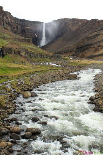 Islande - Hengifoss - Cascade