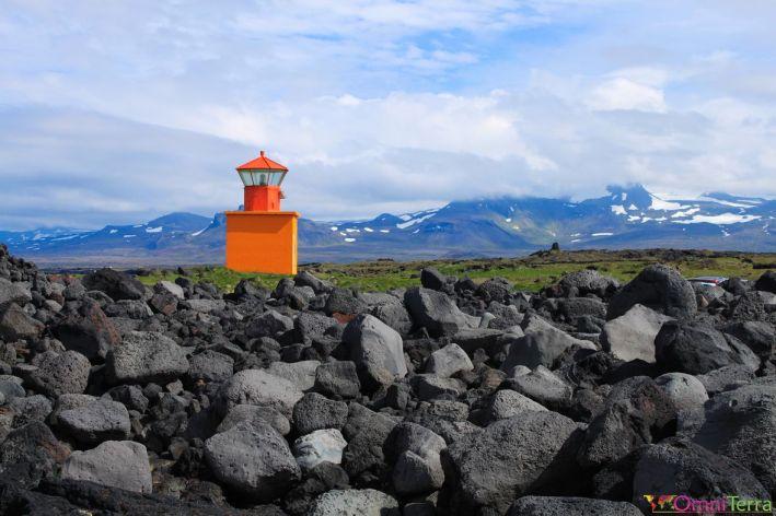 Islande - Parc national Snaefellsjokull - Phare
