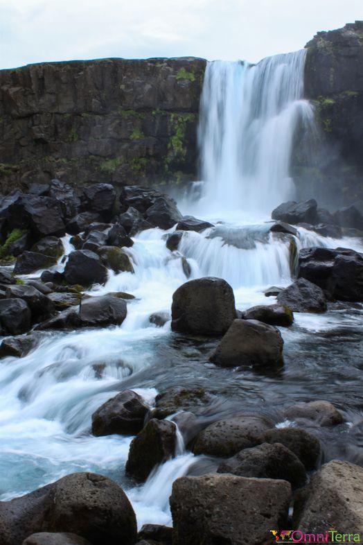 Islande - Thingvellir - Cascade