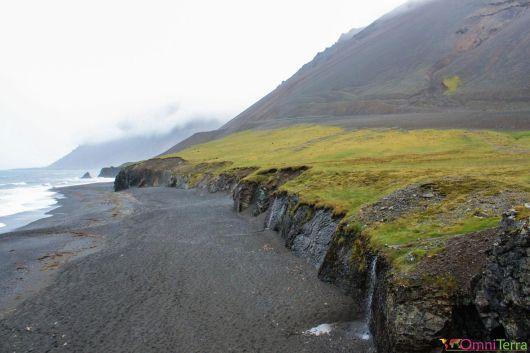 Islande - Route vers Hengifoss - Littoral