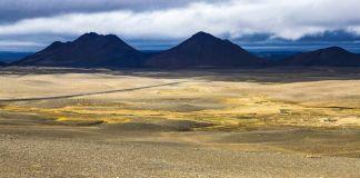 Islande - Route vers Krafla - Panorama