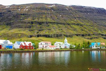 Islande - Seyðisfjörður - village