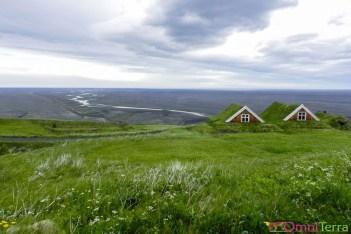 Islande - Parc national Skaftafell - maisons