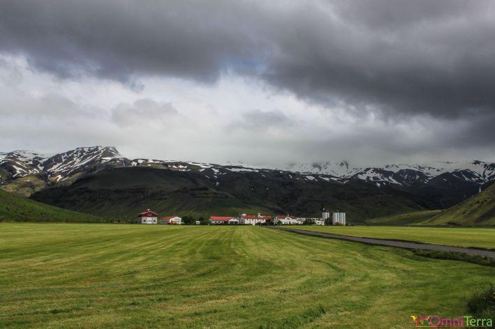 Islande - Eyjafjallajokull - panorama et nuages