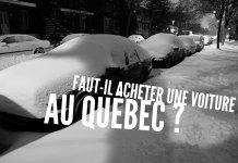 Voiture Québec