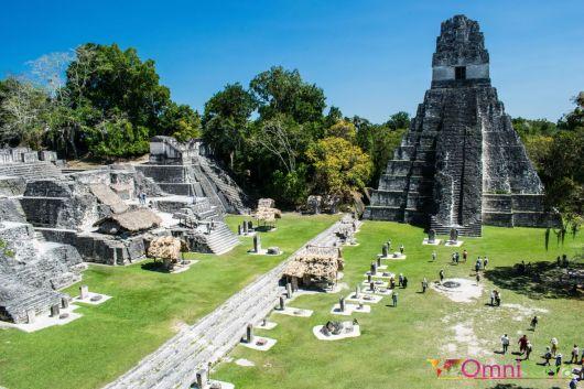 Guatemala - Tikal - Gran Plaza
