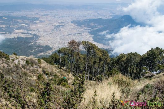 Guatemala - Volcan Santa Maria- panorama