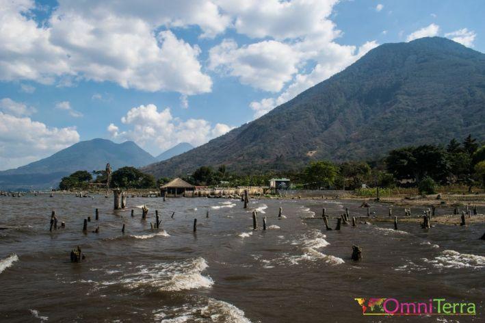 Guatemala - Atitlan - San Pedro- volcans