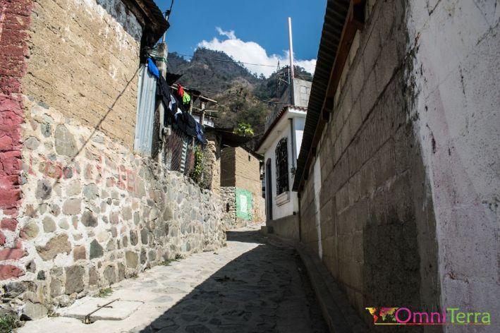 Guatemala - Atitlan - Santa Cruz- rue