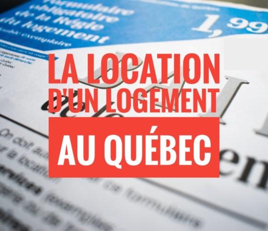 location logement Québec