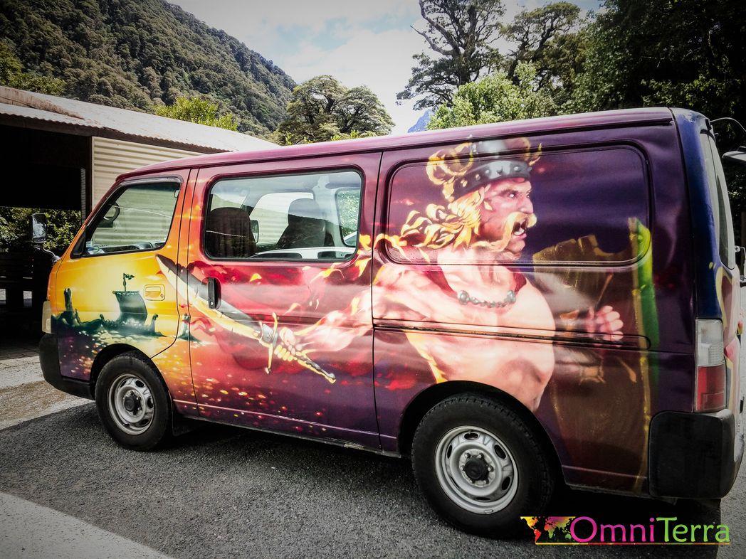 Voyage Nouvelle Zelande - Transport Van