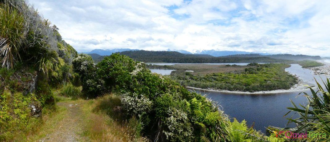 Nouvelle zelande - Okarito - Westland Tai Poutini Park - panorama