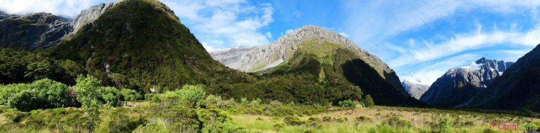 Nouvelle zelande - Fjordland -panorama