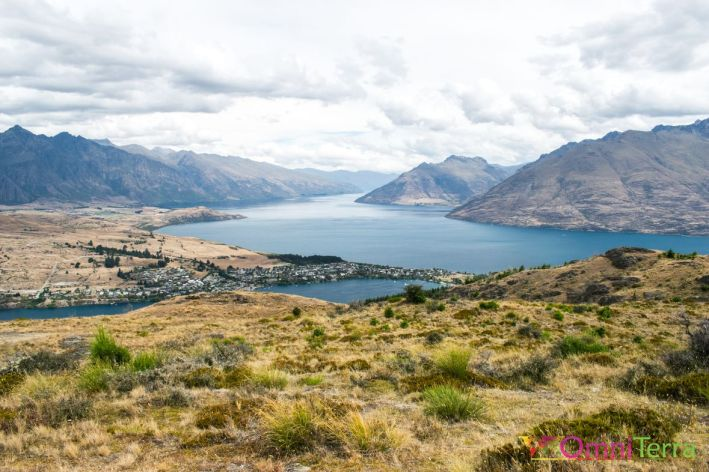 Nouvelle zelande - Queenstown hill - panorama