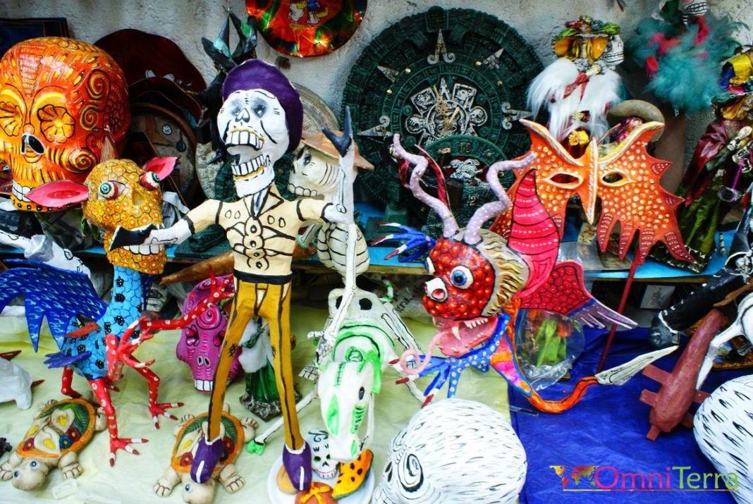 Mexico-Artisanat marché la Ciudadela