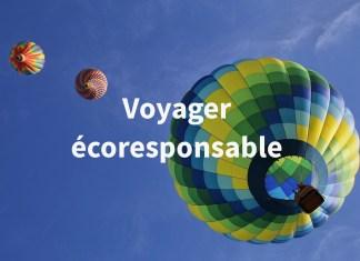 voyager écoresponsable