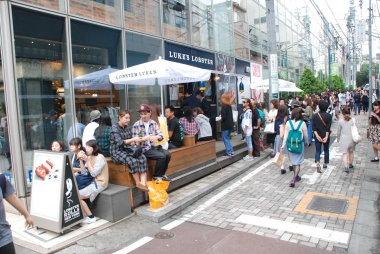 Om Nom Nomad - Luke's Lobster in Harajuku, Tokyo