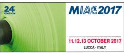 11-12-13 Ottobre 2017 - Lucca (Italy) MIAC 2017 www.miac.info Stand n. 67