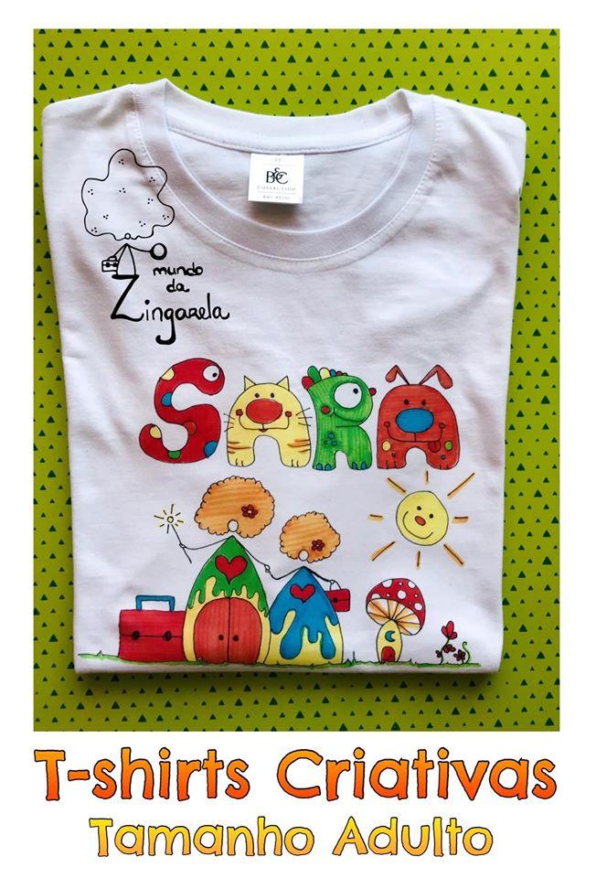 Tshirts para Adultos - O Mundo da Zingarela - Mãe e Filha