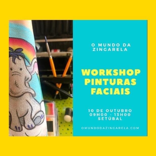 Workshop de Pinturas Faciais - O Mundo da Zingarela®