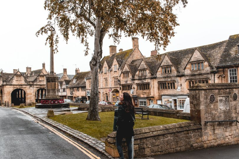 Cotswolds na Inglaterra