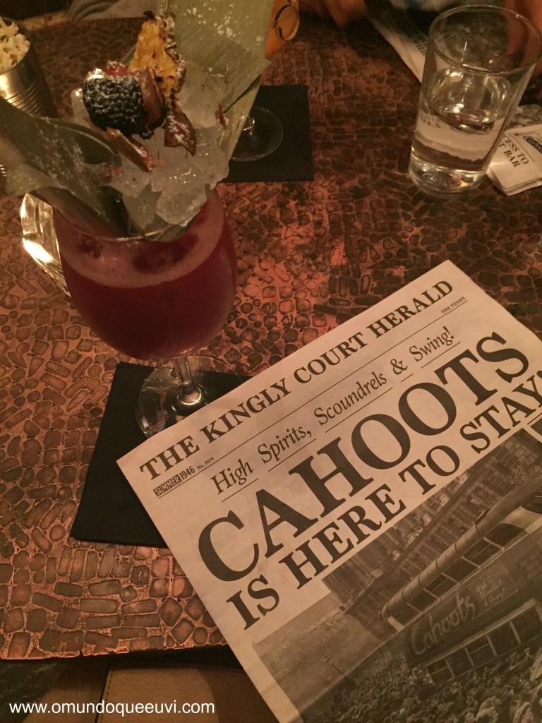 Bem-vindo ao Cahoots e a sua próxima aventura
