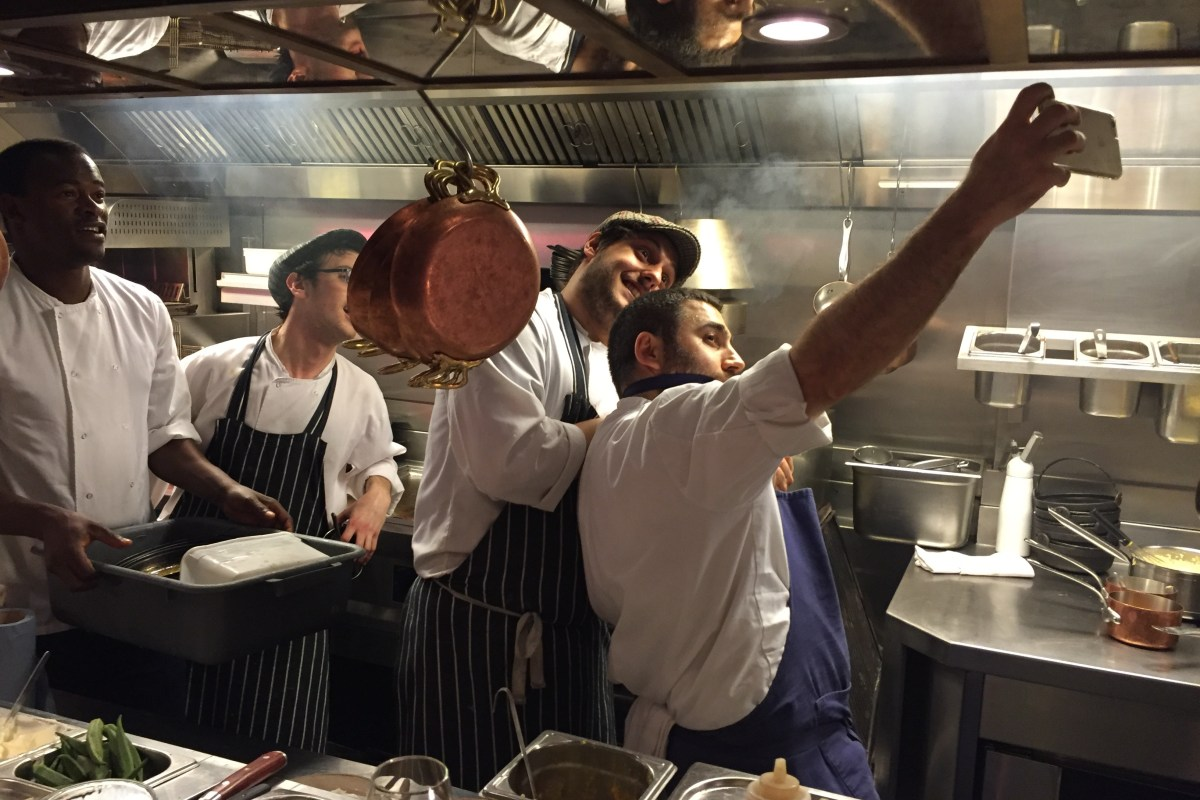 The Palomar crew - os chefs